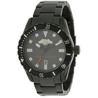 Armani Exchange Black Stainless Steel Mens Watch