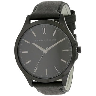 Armani Exchange Leather Mens Watch AX2148