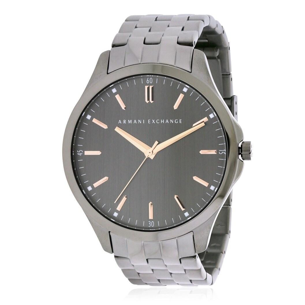 Armani Exchange Smart LP Mens Watch AX2143, Black, Size O...