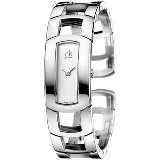 562cb357620 Calvin Klein Women s K5V231Q4  Spellbound  Grey Leather Watch. Quick View
