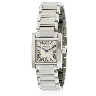 Cartier Francaise Ladies Watch W51008Q3|https://ak1.ostkcdn.com/images/products/17237902/P23493121.jpg?impolicy=medium