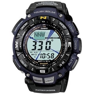 Casio Triple Sensor Solar Pathfinder Digital Mens Watch