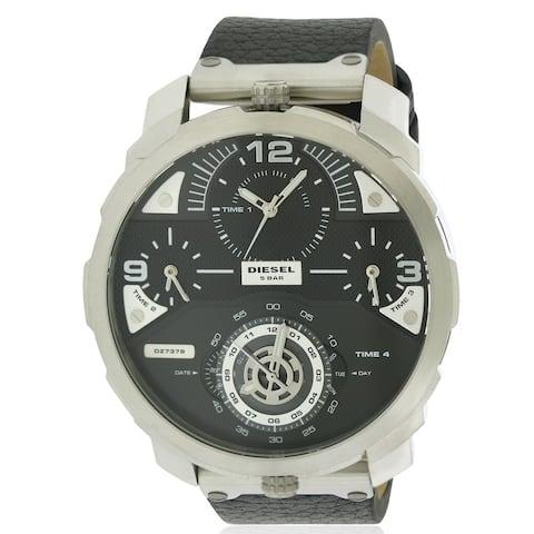 Diesel Machinus Leather Mens Watch DZ7379