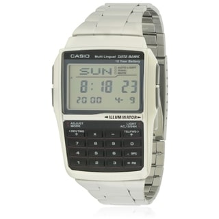 Casio Data Bank Stainless Steel Mens Watch DBC32D-1A