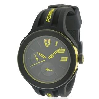Ferrari Scuderia FXX Silicone Mens Watch