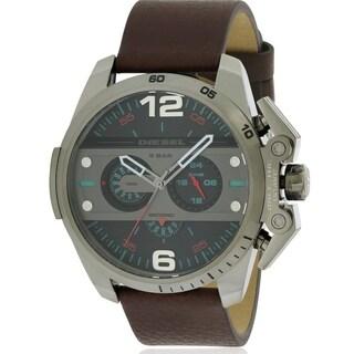 Diesel Ironside Leather Chronograph Mens Watch DZ4387