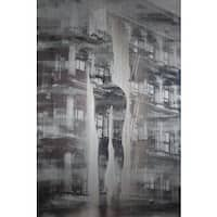 'Arches and Columns' Painting Print on Brushed Aluminum