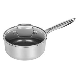 MAKER 2 qt. Stainless Steel Covered Saucepan