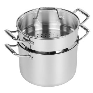 Iris Stainless Steel 8-quart Stockpot With Steamer Insert