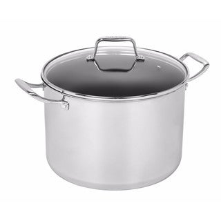 MAKER 12 qt. Stainless Steel Covered Stockpot