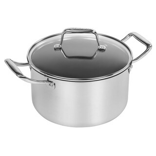 Iris Stainless Steel 5-quart Covered Dutch Oven