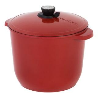 Iris Classic SmartSteam Red Aluminum Cookware