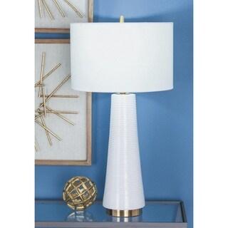 Urban Designs Elegant Ceramic 27-Inch Table Lamp (Set of 2)