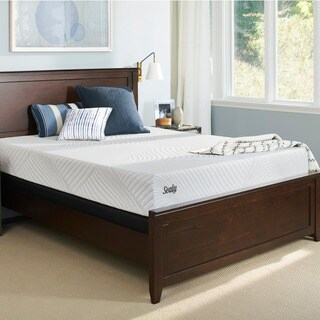 Sealy Conform Essentials Plush 11.5-inch Full-size Gel Memory Foam Ease Adjustable Mattress Set