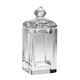 "Crystal Covered Square Swab Holder, 5.5"" H"