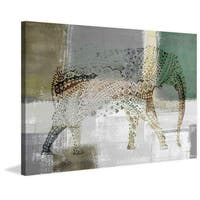 Decorative Elephant' Painting Print on Wrapped Canvas