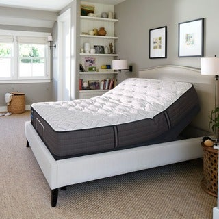 Sealy Response Performance 12.5-inch Cushion Firm King-size Ease Adjustable Mattress Set