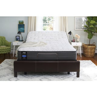 Sealy Response Performance 12-inch Cushion Firm Tight Top King-size Ease Adjustable Mattress Set
