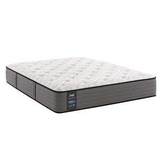 Sealy Response Performance Collection Cushion Firm Queen-size Ease Adjustable 12.5-inch Mattress Set