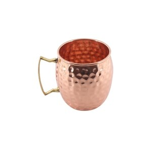 Inox Artisans 16-ounce Copper Moscow Mule Mug 2-pack