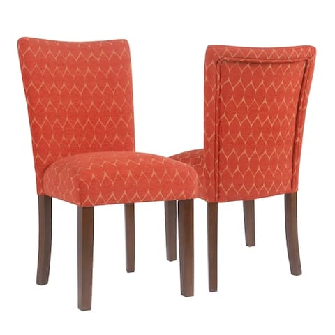 HomePop Textured Parsons Chair - Set of 2