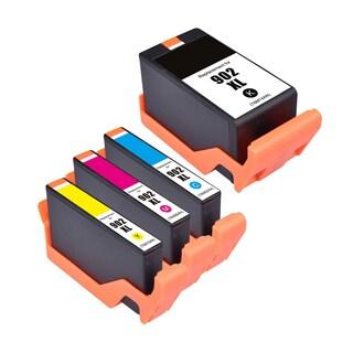 4PK Compatible 902XL Black Cyan Magenta Yellow Inkjet Cartridges For HP OfficeJet 6951 6954 OfficeJet Pro 6968 6970 6975 6978