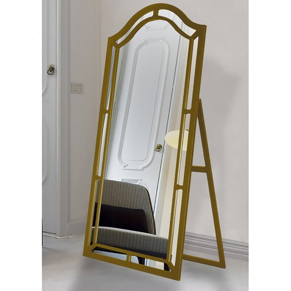 Chic Home Gale Floor Mirror Free Standing Satin Finish - Free ...