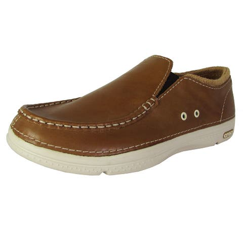 fad6b7e857d Crocs Mens Thompson II.5 Low Moc Toe Loafers