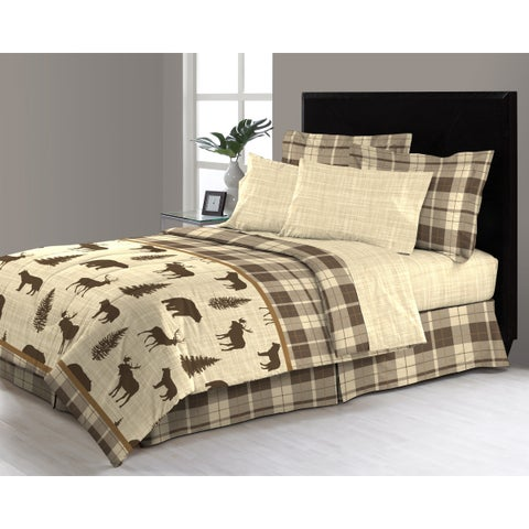 Asher Home Denali 6 - 8 Piece Complete Bed in a Bag Set