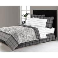 East Millburn Grey 6 - 8 Piece Complete Bed in a Bag Set