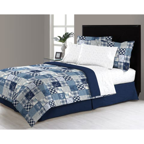 Asher Home Wycombe 6 - 8 Piece Complete Bed in a Bag Set
