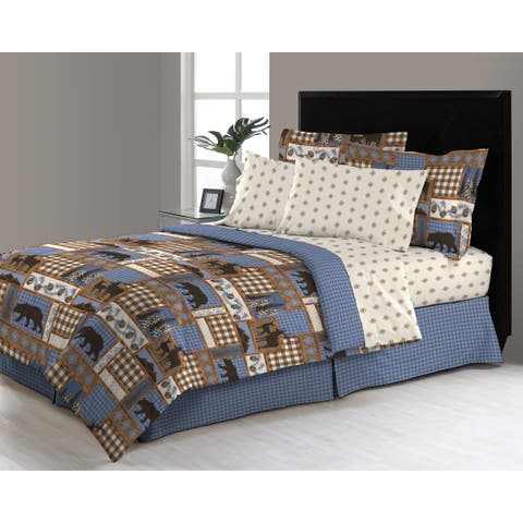 Asher Home Manitoba Trail 6 - 8 Piece Complete Bed in a Bag Set