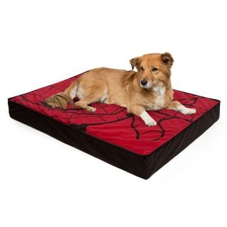 Marvel Spiderman Deluxe Oversized Memory Foam Dog Bed and Cat Bed