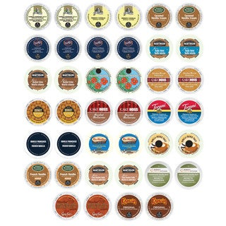 Creamy Vanilla and Heartwarming Hazelnut Ultimate Coffee Variety K-Cup and RealCup Portion Pack for Keurig Brewers