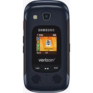 Samsung Convoy 4 B690 Verizon CDMA Rugged Flip Phone w/ 5MP Camera - Blue Black (Certified Refurbished)