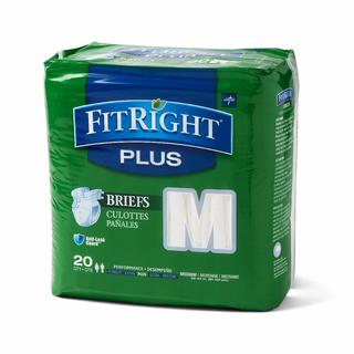 FitRight Plus Disposable Briefs (Pack of 80)