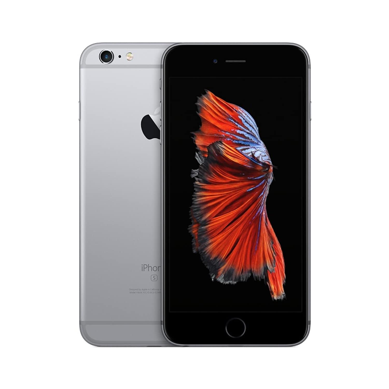 Apple iPhone 6 Plus Unlocked 64GB Space Grey - Refurbished 6PLUS64WH-RB