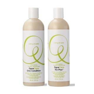 DevaCurl 12-ounce No-poo Cleanser & One Condition Duo