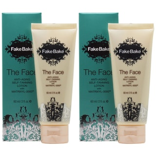 Fake Bake The Face 2-ounce Anti-Aging Self-Tanning Lotion (Pack of 2)