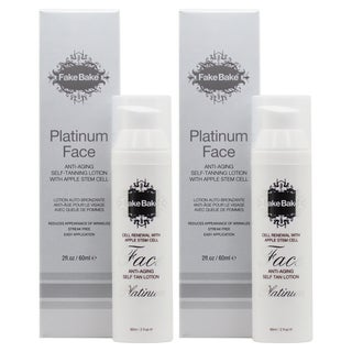 Fake Bake 2-ounce Platinum Face Tanning Lotion (Pack of 2)