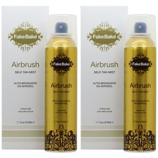 Fake Bake Airbrush Instant 7.1-ounce Self-Tan Mist (Pack of 2)