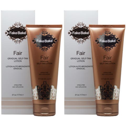 Fake Bake Fair 6-ounce Self-Tanning Lotion (Pack of 2)