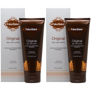 Fake Bake Original 6-ounce Self-Tan Lotion (Pack of 2)