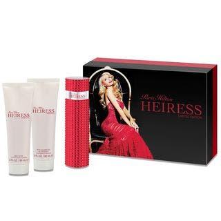 Paris Hilton Heiress Limited Edition Women's 3-piece Gift Set https://ak1.ostkcdn.com/images/products/17239958/P23494680.jpg?impolicy=medium