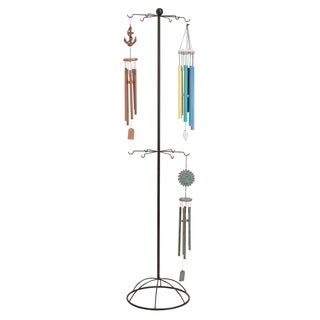 Studio 350 Metal Wind Chime Stand 79 inches high, 18 inches wide