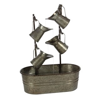 Studio 350 Metal Fountain 24 inches wide, 34 inches high