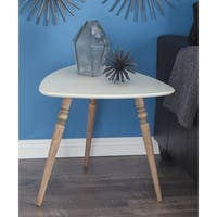 Studio 350 Wood Accent Table 23 inches wide, 21 inches high