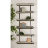 Studio 350 Metal Wall Planter 24 inches wide, 58 inches high