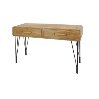 Studio 350 Wood Metal Console Table 45 inches wide, 30 inches high