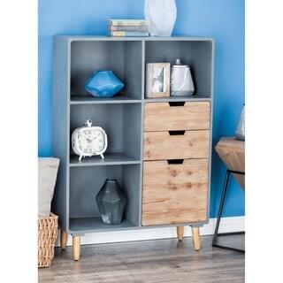 Studio 350 Wood Storage Shelf 33 inches wide, 48 inches high